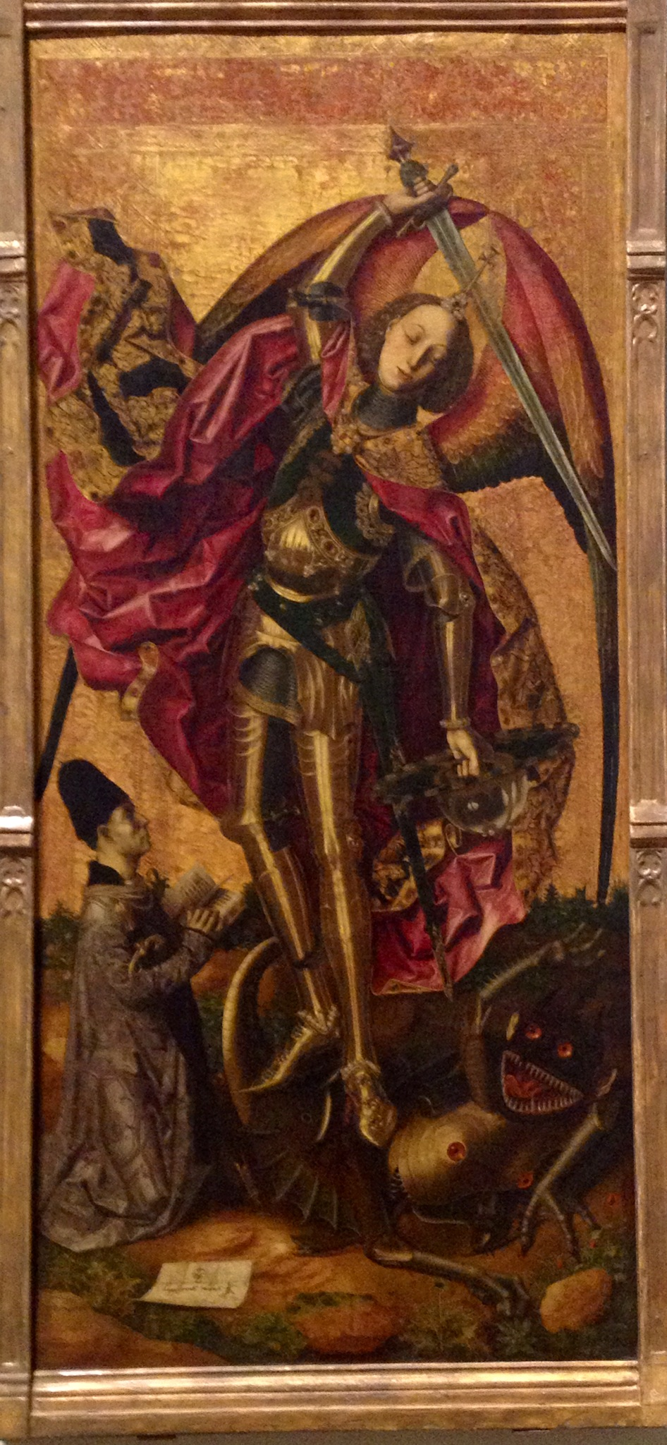 St. Michael's a jerk and other paintings at the National ...