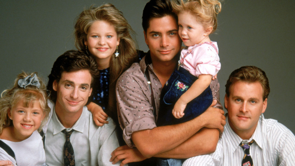 The original Full House cast (~1987).