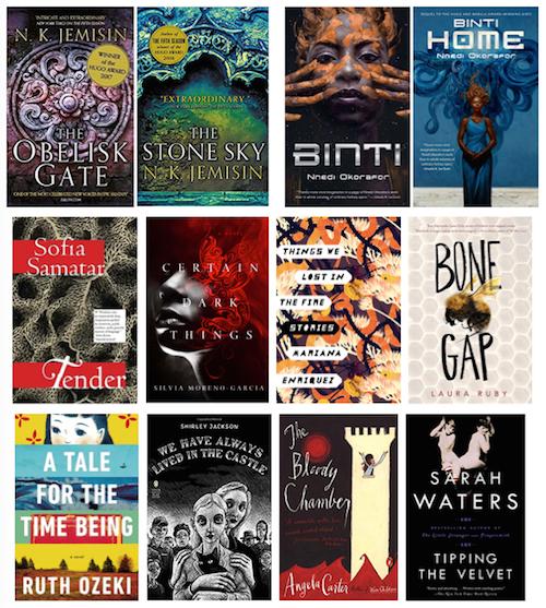 top ten fiction books read in 2017