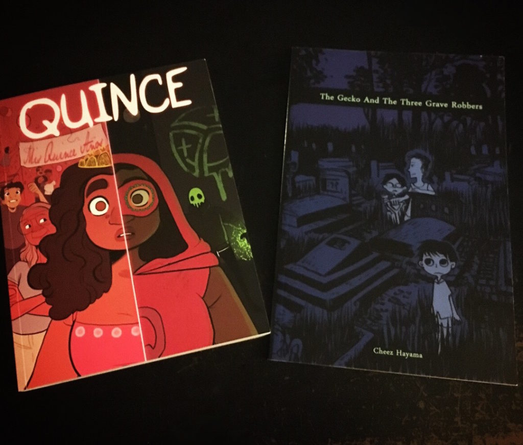 Quince and Grave Robbers comics