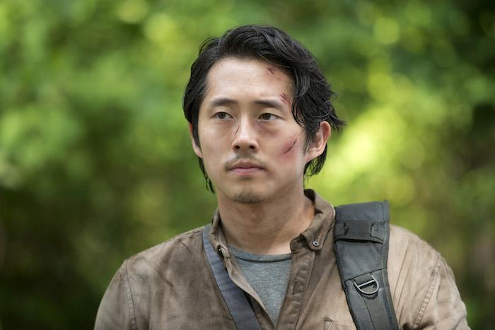 Glenn, played by Steven Yeun