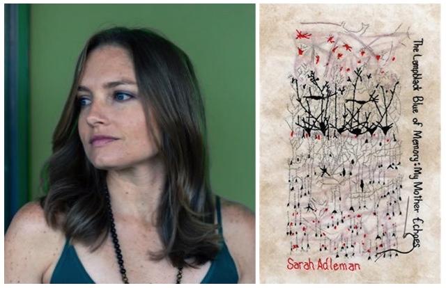 Sarah Aldman-The Lampblack Blue of Memory-My Mother Echoes